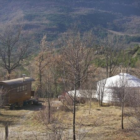 Habitats légers à la Motte Chalancon
